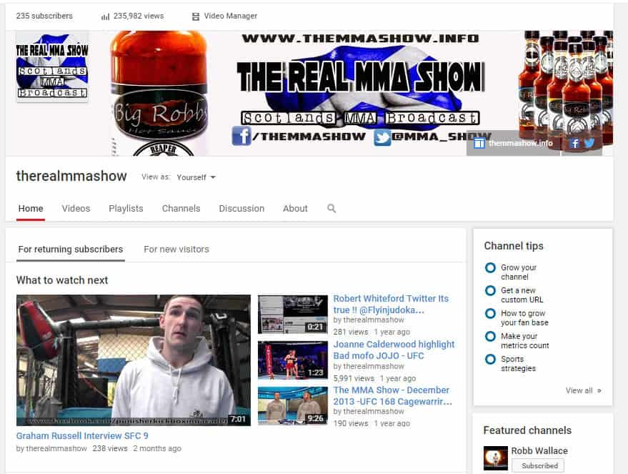 The MMA Show by Robb Wallace Media